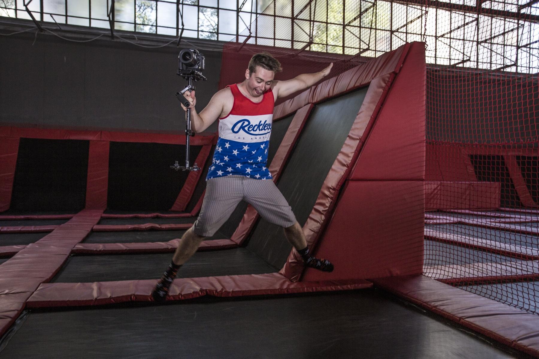 Obejrzyj galerię zdjęć z trampolin